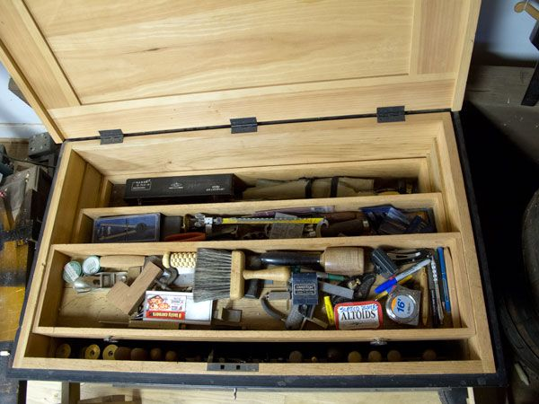 Nice Detail Of Tool Drawers Hand Tools T Tool Drawers