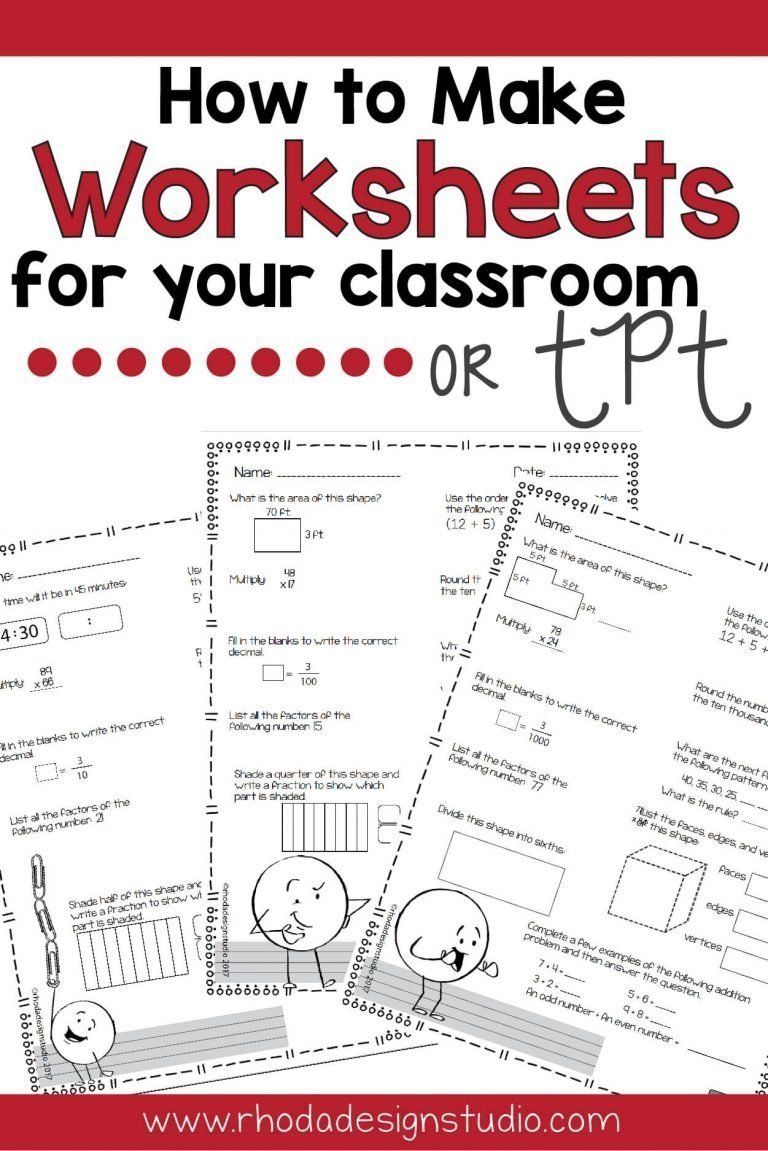 How To Make Rigorous Math Worksheets Printables For Your Classroom Math Worksheets Math Methods Math [ 1151 x 768 Pixel ]