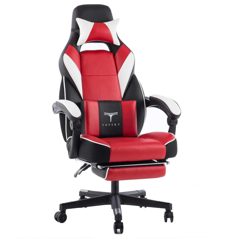 Topsky high back racing style pu leather executive computer gaming