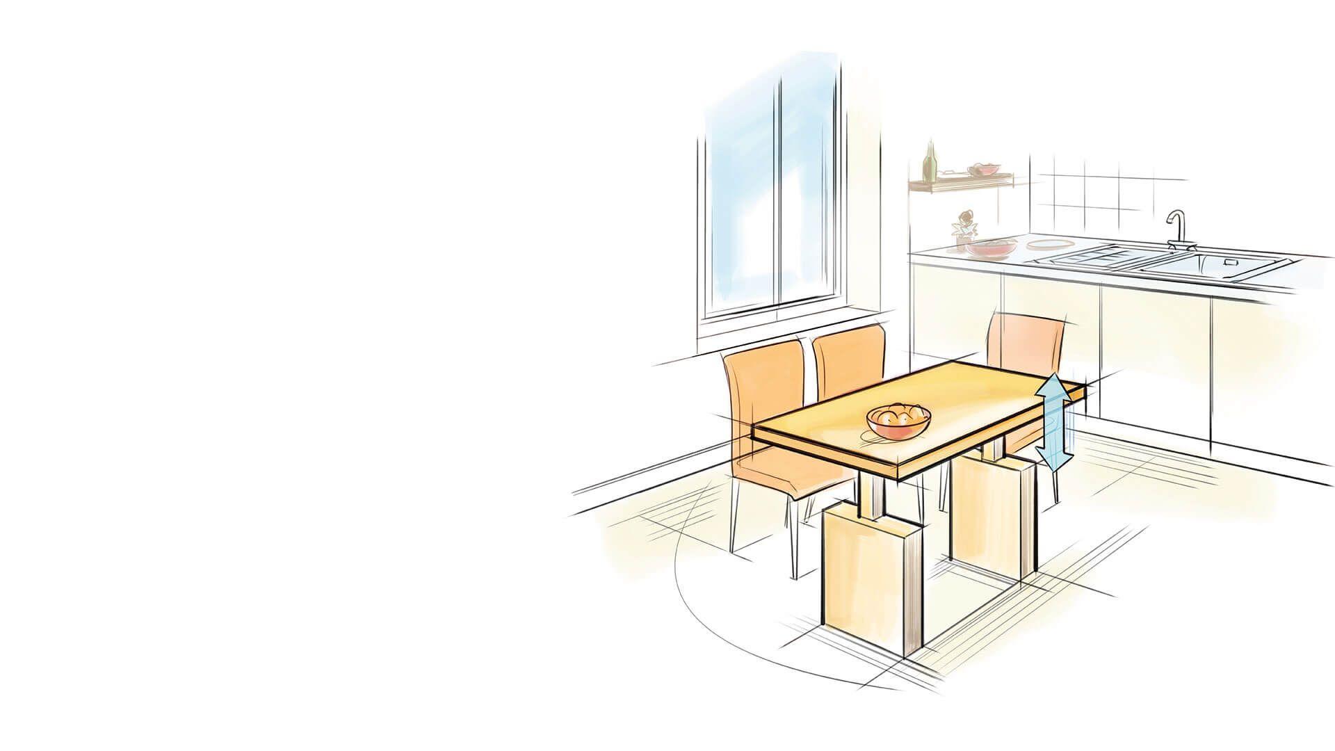 Hohenverstellbare Kuchentische Ergoagent Home Decor Home Decor