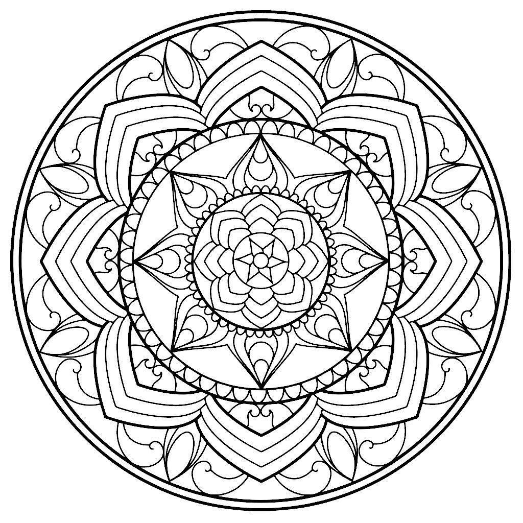 Pin de Jorgelina Manzano en Mandalas | Pinterest | Mandalas, Pintar ...