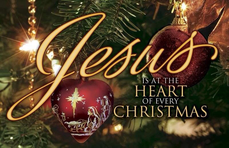 Jesus Is At The Heart of Every Christmas Merry christmas
