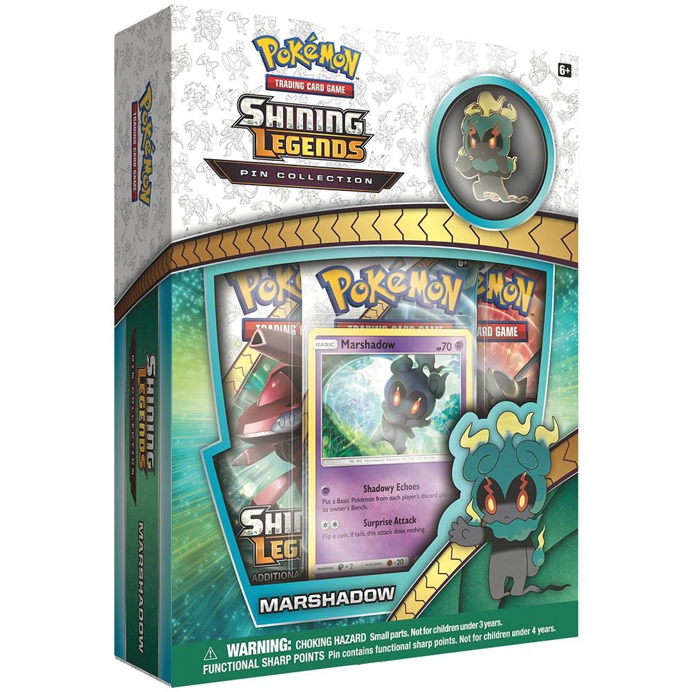 Pokemon Trading Card Game Shining Legend Marshadow Pin