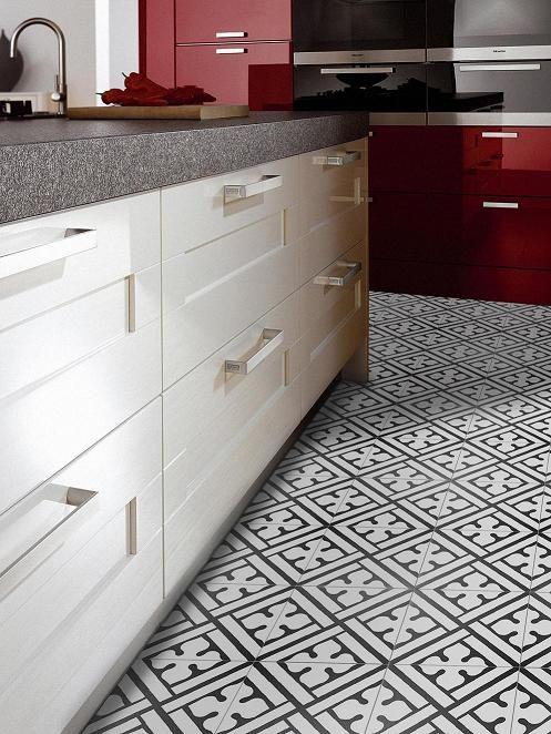 Décor Classic Noir B Ceramic Tiles From Neocim Collection By - Carrelage kerion