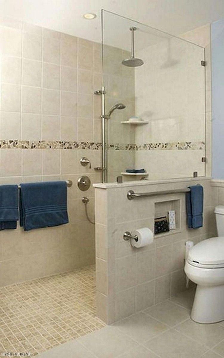 44 Easy Curbless Shower Ideas For Your House Bathroomdecor