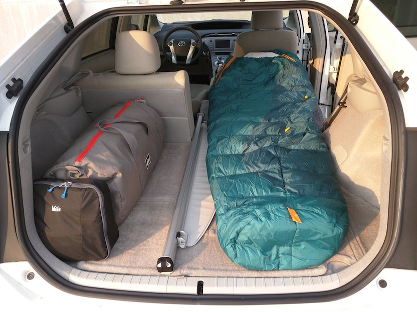 you can t live in your car duffle bags the current and sleeping bag. Black Bedroom Furniture Sets. Home Design Ideas