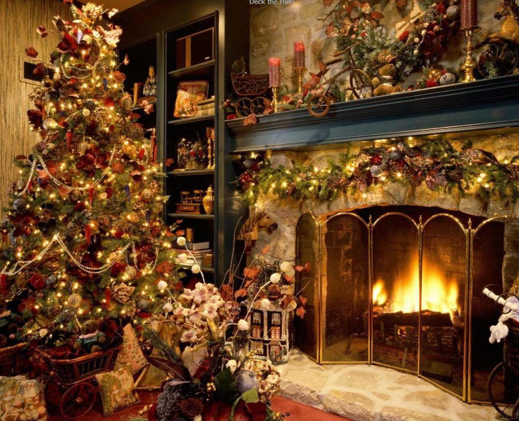 old fashion christmas   Wallpaper: Idyll - old Fashioned christmas ...