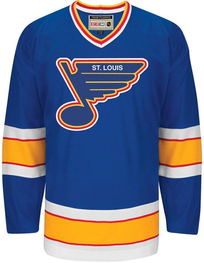 low priced 41b6f e4cab Ccm Men St. Louis Blues Classic Jersey | Products | St louis ...