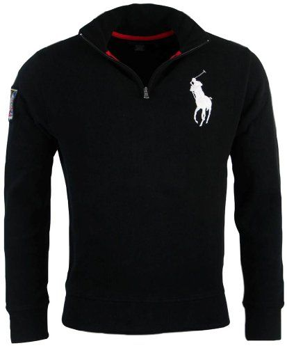 Polo Ralph Lauren Mens French Rib Big Pony Logo Pullover - XXL - Red at  Amazon Men's Clothing store: