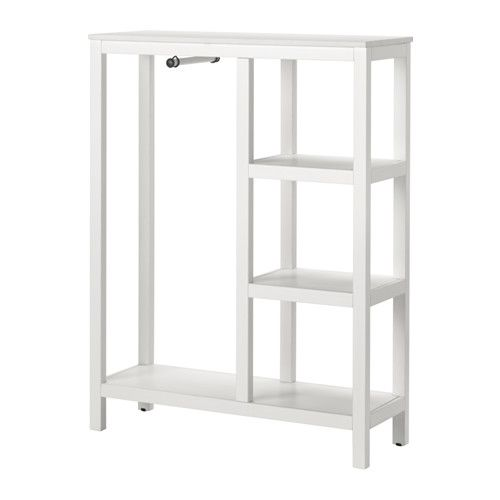 Guardaroba Hemnes Ikea.Hemnes Guardaroba A Giorno Mordente Bianco Bed And