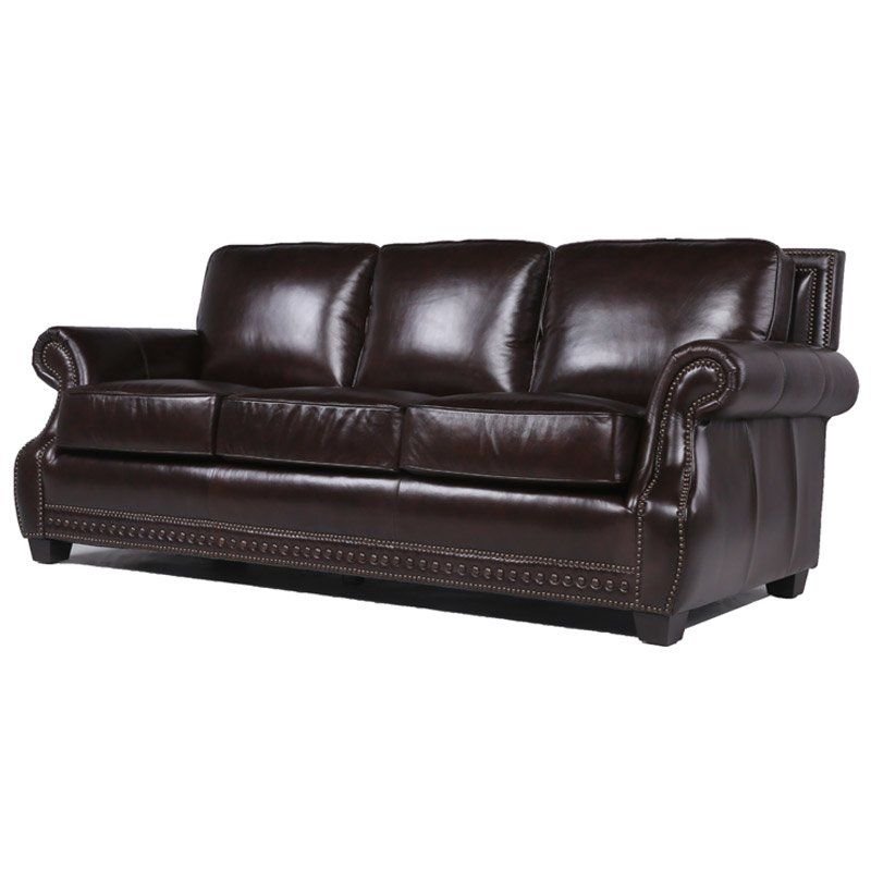 To Shop Online Diana Leather Sofa By Trent Austin Design Leather Sofa Upholstered Sofa Sofa
