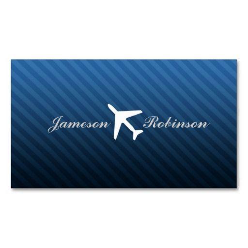 Flight Instructor Business Cards Zazzle Pilot