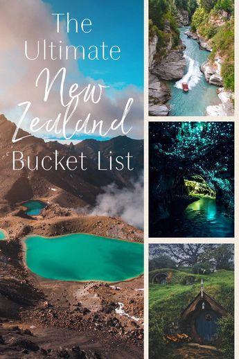 The Ultimate New Zealand Travel Bucket List