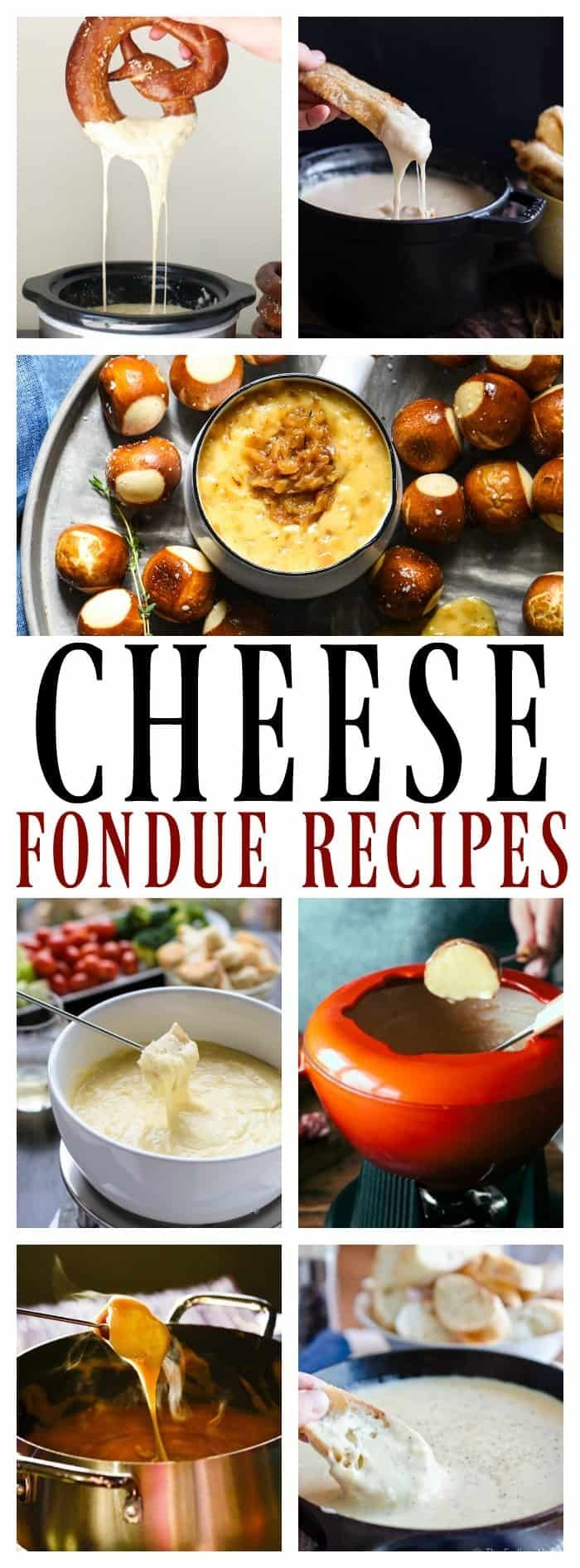 13 Festive Cheese Fondues #fonduerecipes