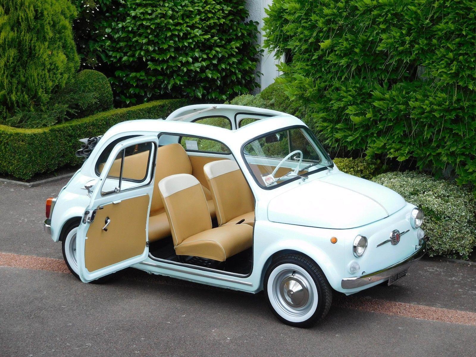 eBay: Fiat 500D Trasformabile Classic / 1962 / LHD - Fully Restored ...