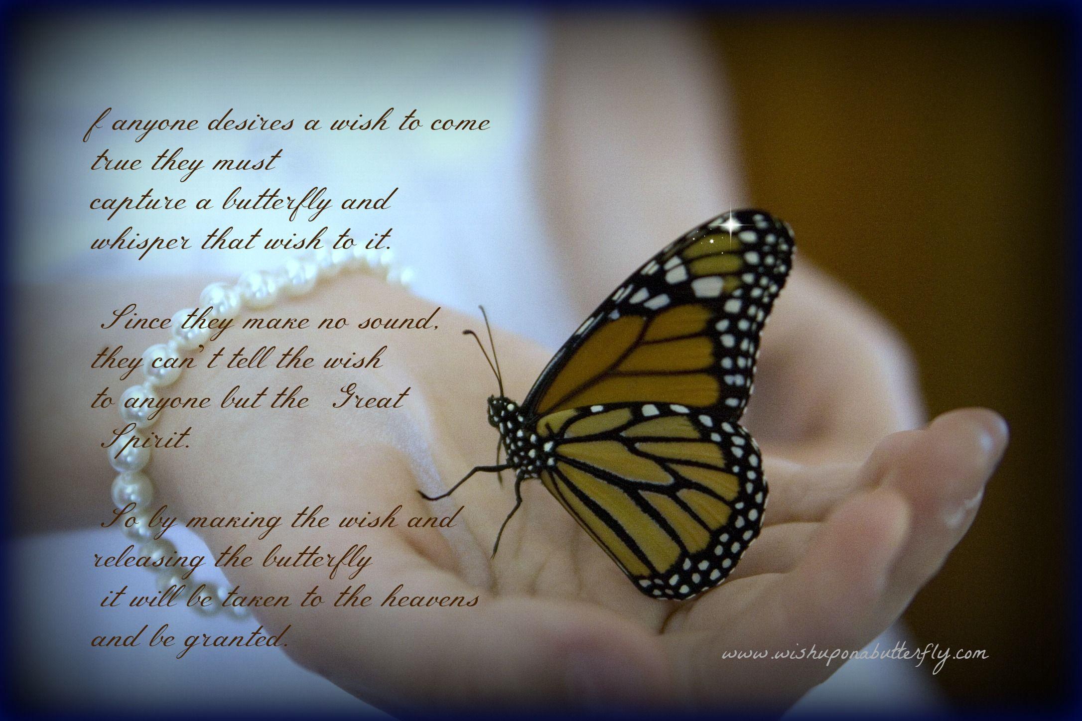 Indianlegend Butterfly Release Wedding Wedding Poems Butterfly