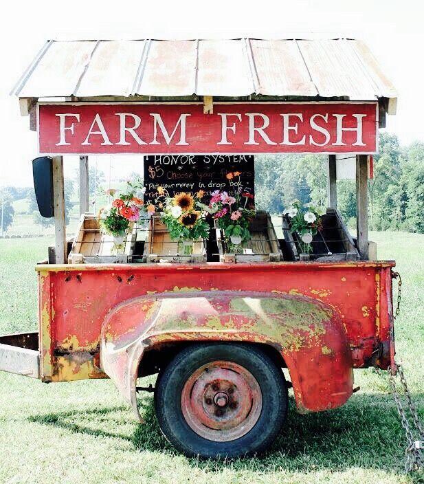 """""""Unique architecture """" Farm stand, Farmers market, Farm"""