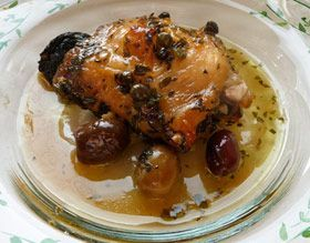 Chicken Maribella  submitted by Michelle Melby  Chicken Marbella is a classic, elegant dish that you can get on the table in no time by starting the marinade the night before. Feed a crowd with this recipe, or cut it in half or 1/4 for a single family dinner. #chickenmarbella Chicken Maribella  submitted by Michelle Melby  Chicken Marbella is a classic, elegant dish that you can get on the table in no time by starting the marinade the night before. Feed a crowd with this recipe, or cut it in hal #chickenmarbella