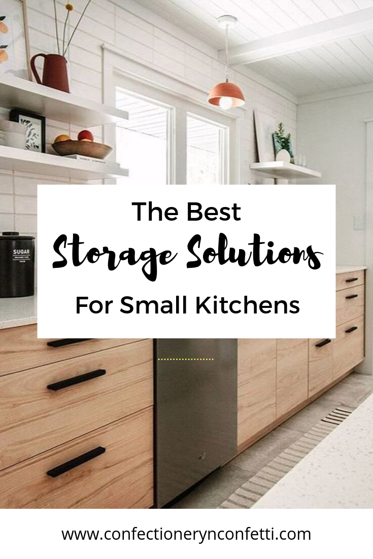 The best storage solutions for small kitchens and small ...