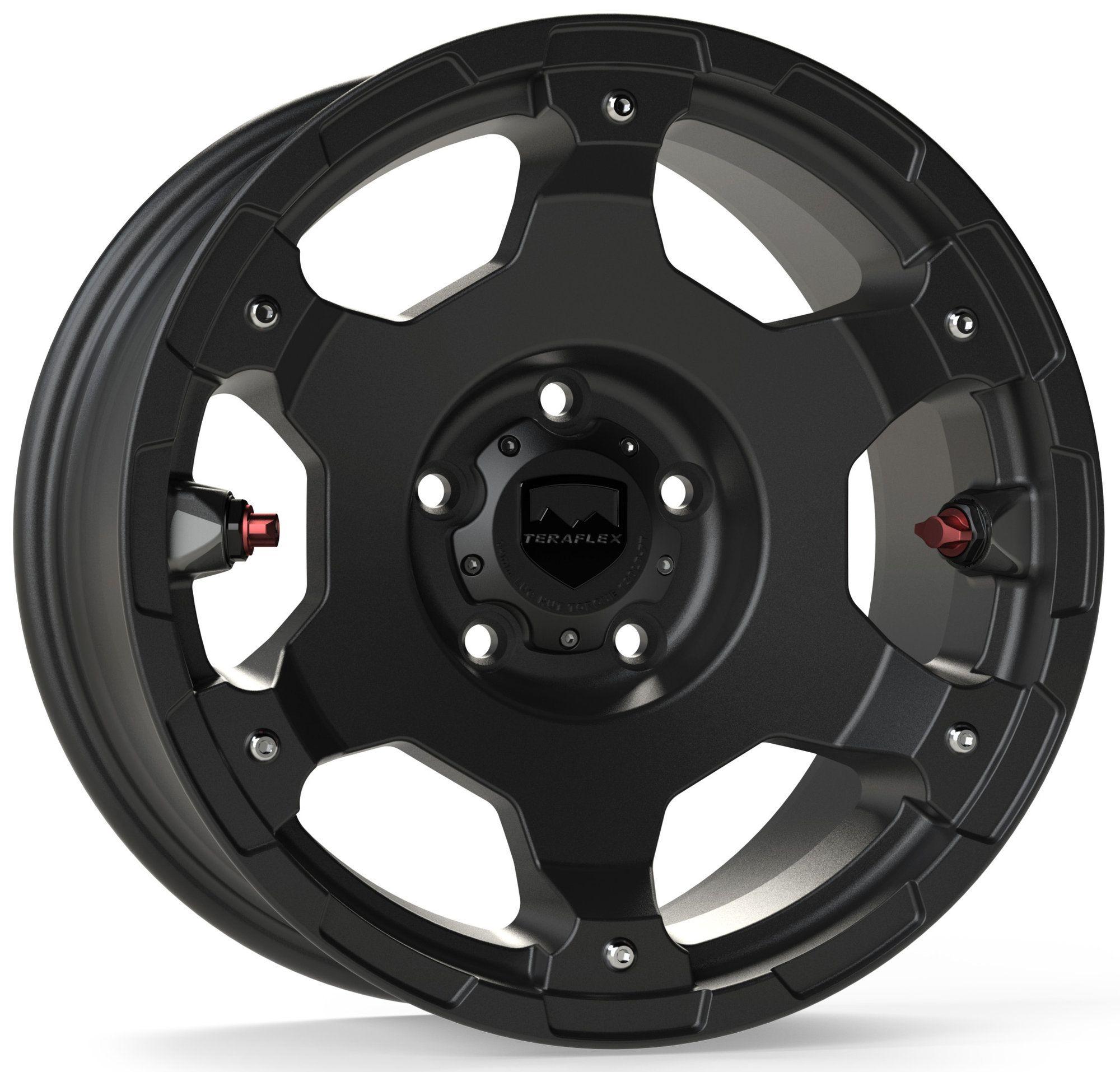 Teraflex Base Nomad Wheel in Metallic Black for 0720 Jeep