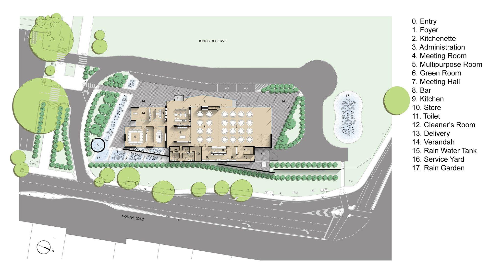 Gallery Of Thebarton Community Centre Mph Architects 11 Architect Pavilion Design Architecture Presentation