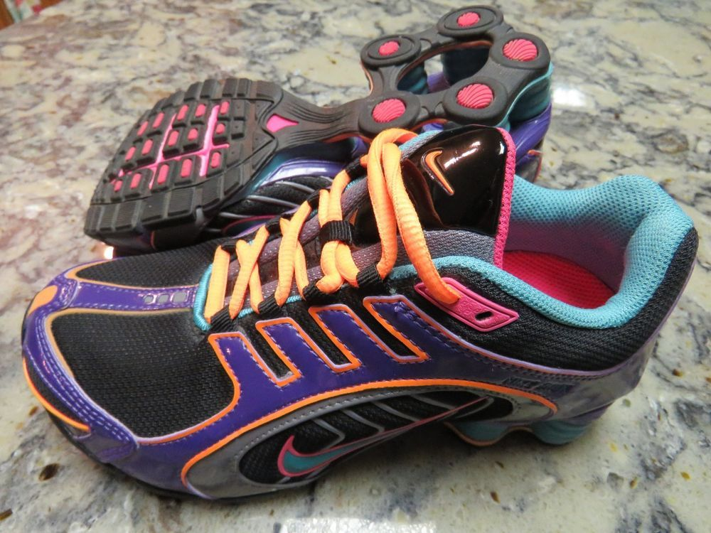 bd760941b0e NIKE Shox Navina Limited Running Shoes Black Turquoise 356918-038 Women s  Size 6  Nike  RunningCrossTraining