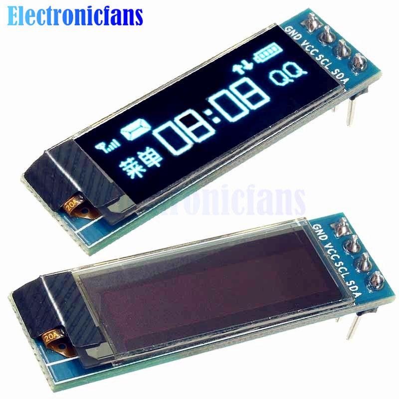 e65b6230ffd144795857e46be700515d 0 91 inch 128x32 iic i2c blue oled lcd display diy module ssd1306 SSD1306 BS2 at bakdesigns.co