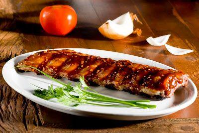 Luciane Daux Gastronomia: Costelinha de porco fácil harmonizada com cerveja - dica para o Reveillon