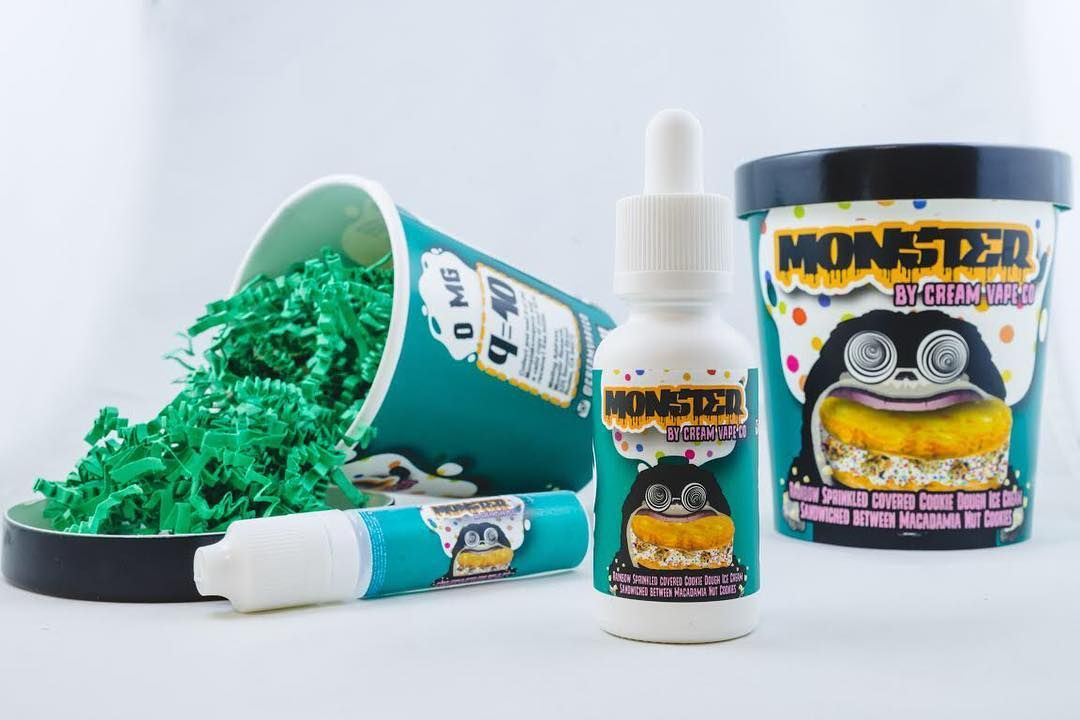 MONSTER by @CreamVapeCo the same creators of Pancake Man is sure to