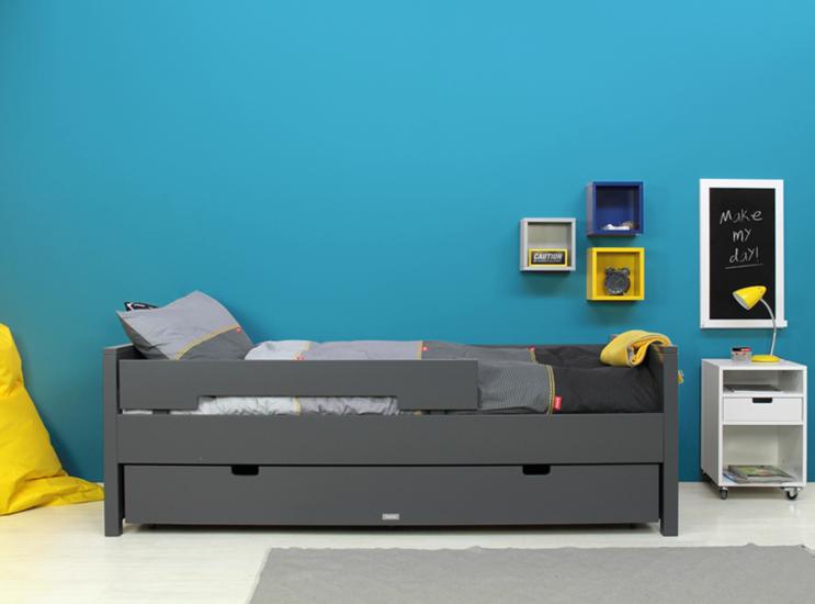 Bopita Jonne Junior.Bopita Jonne Tiener Bed 90x200 Deep Grey In 2019 Kamer