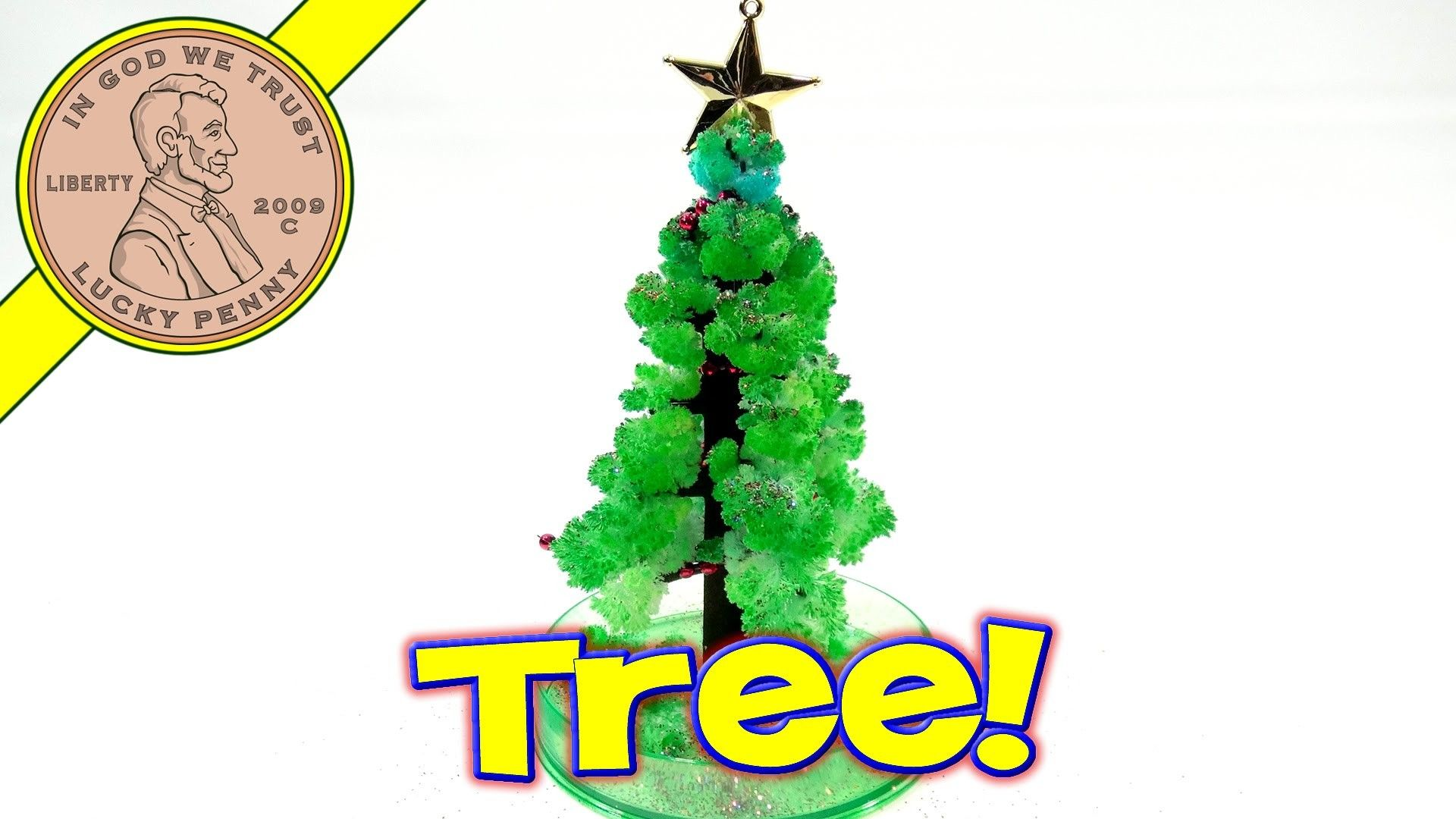 Amazing Christmas Tree, Toysmith. .Grows In One Day! | Christmas ...