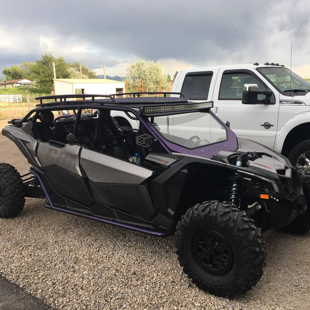Jordranderson Had To Share A Pic From A Happy Customer At Adtriples This Is Another Cool Build As Of Late This X3 Has An Aftermarket C Can Am Roof Rack Pics