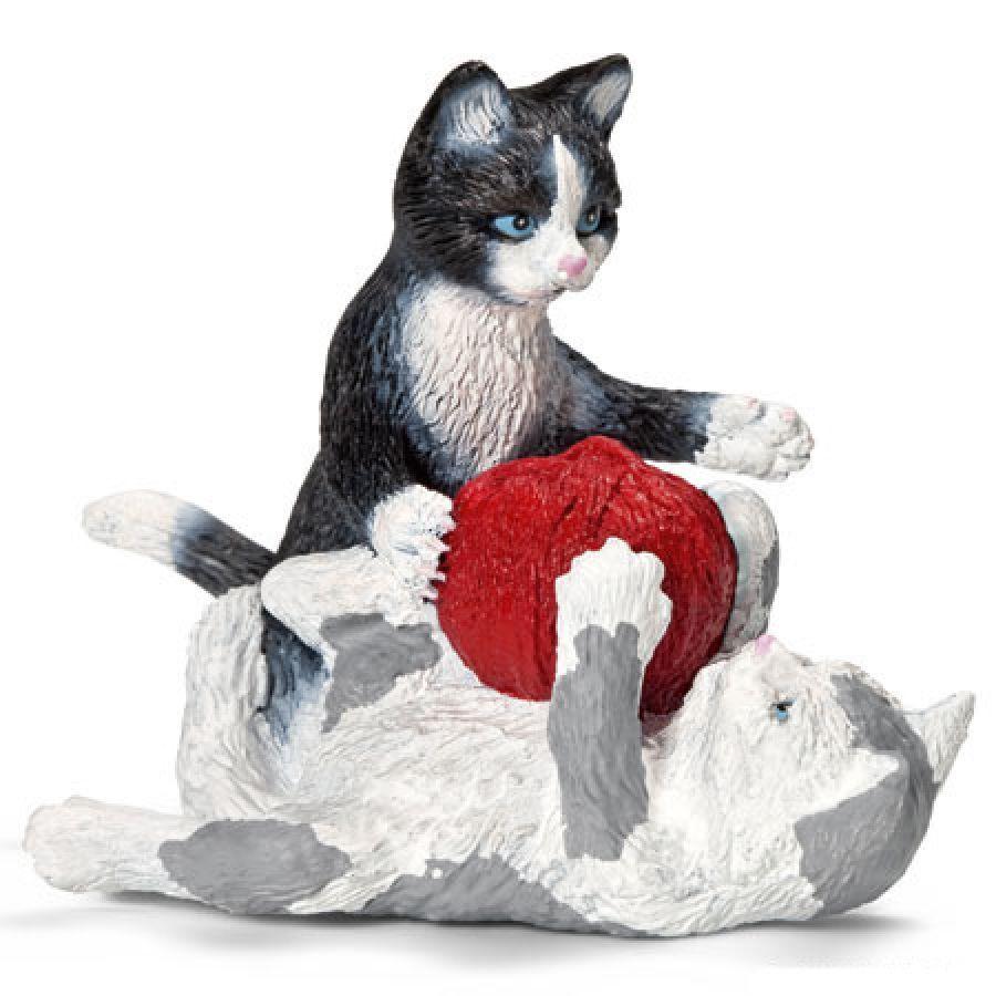 SCHLEICH kittens spelend 13724 | PinkorBlue.nl