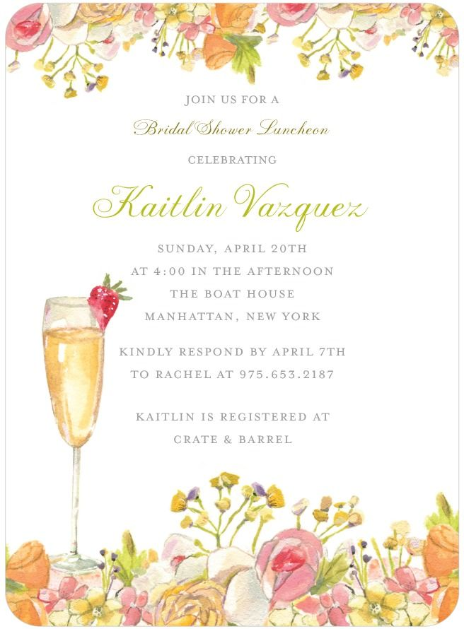 Wedding Invitations, Bridal Shower Invitations Announcements by ...