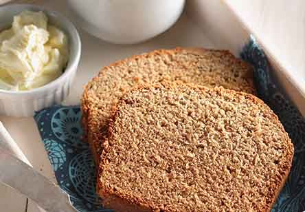 Gluten-Free Banana Bread with Coconut and Flax