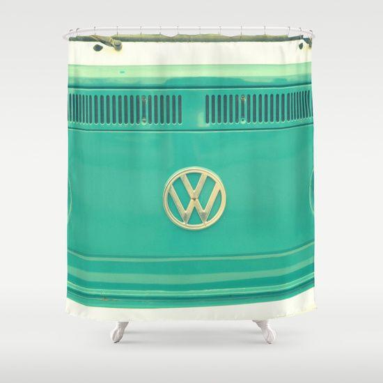 Groovy VW Shower Curtain