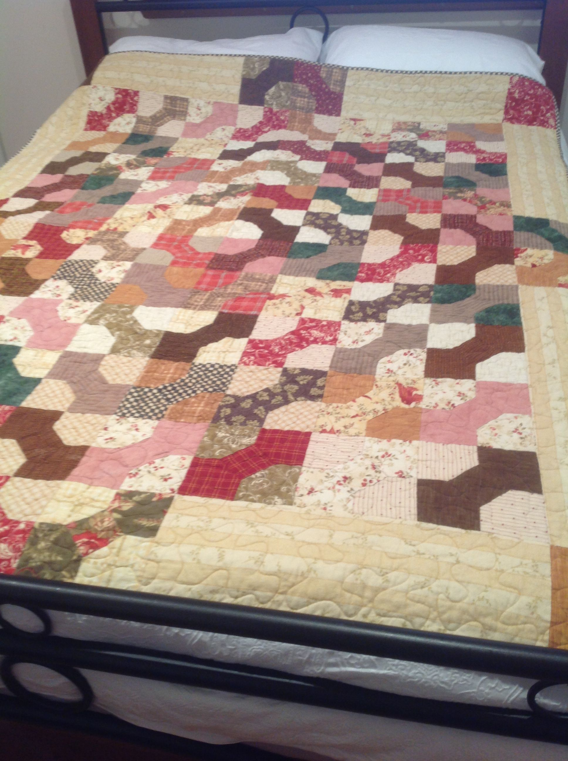 First flannel quilt fabric from swan hill machine quilted   Cath ... : flannel quilt fabric - Adamdwight.com