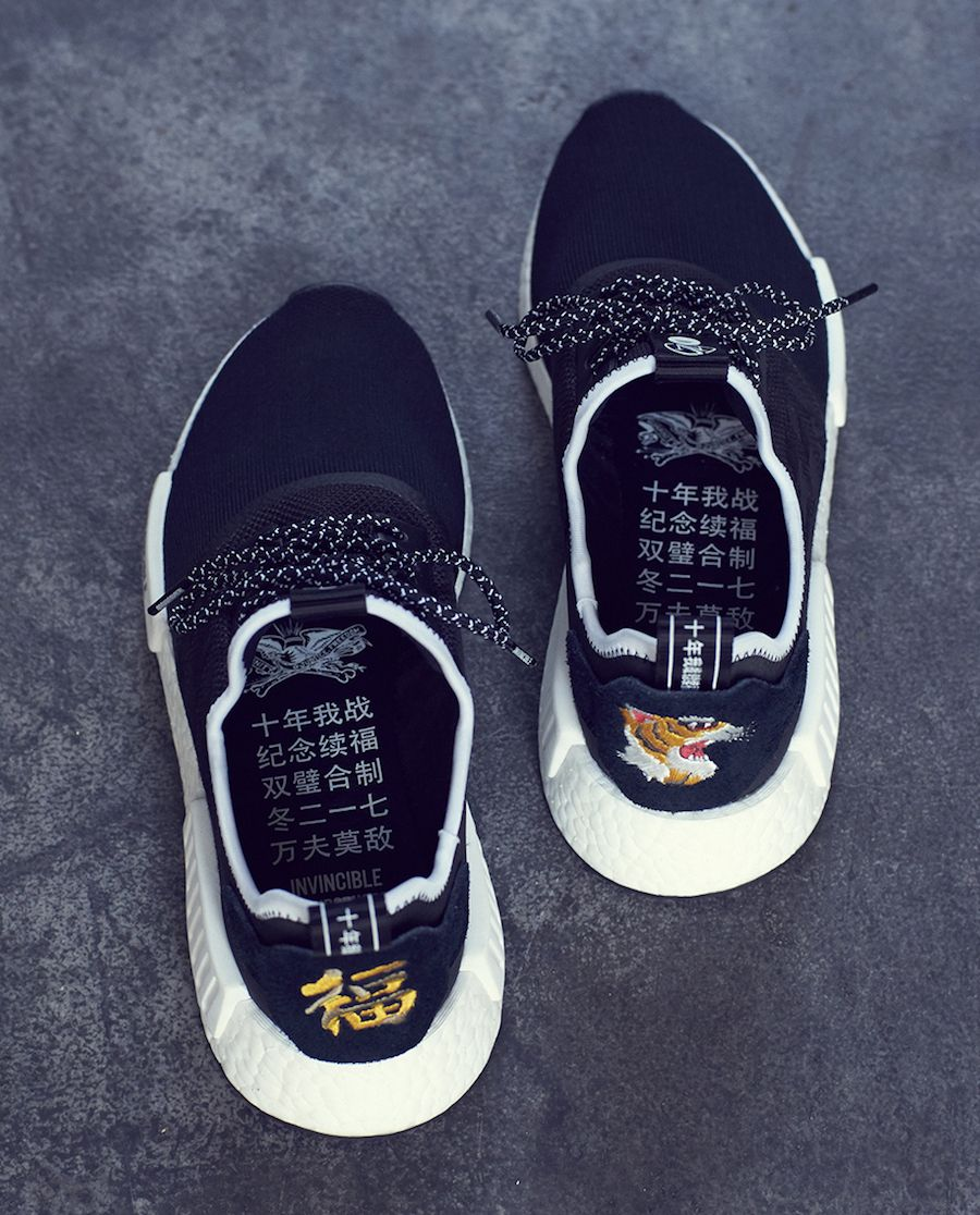 INVINCIBLE taps Japanese streetwear brand NEIGHBORHOOD and adidas Originals  for their newest adidas NMD R1 collaboration