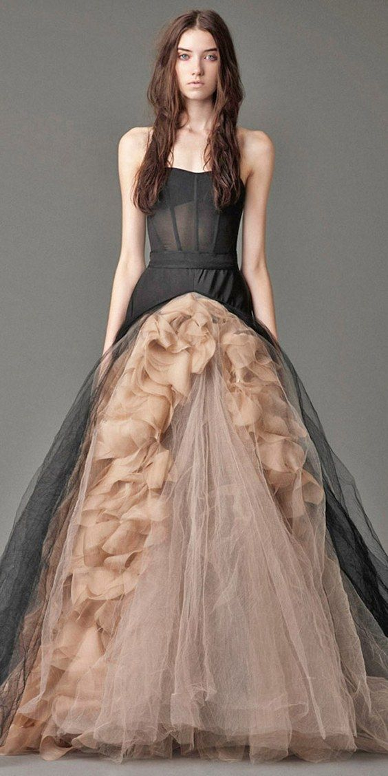 50 beautiful black wedding dresses you will love junglespirit