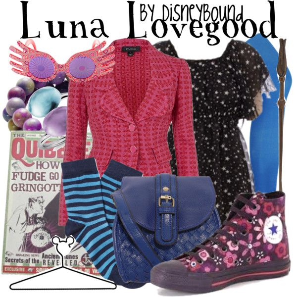 luna lovegood by leslieakay on polyvore featuring st john forever 21 rare london electric picks blue nile luna brooks brothers converse and disney
