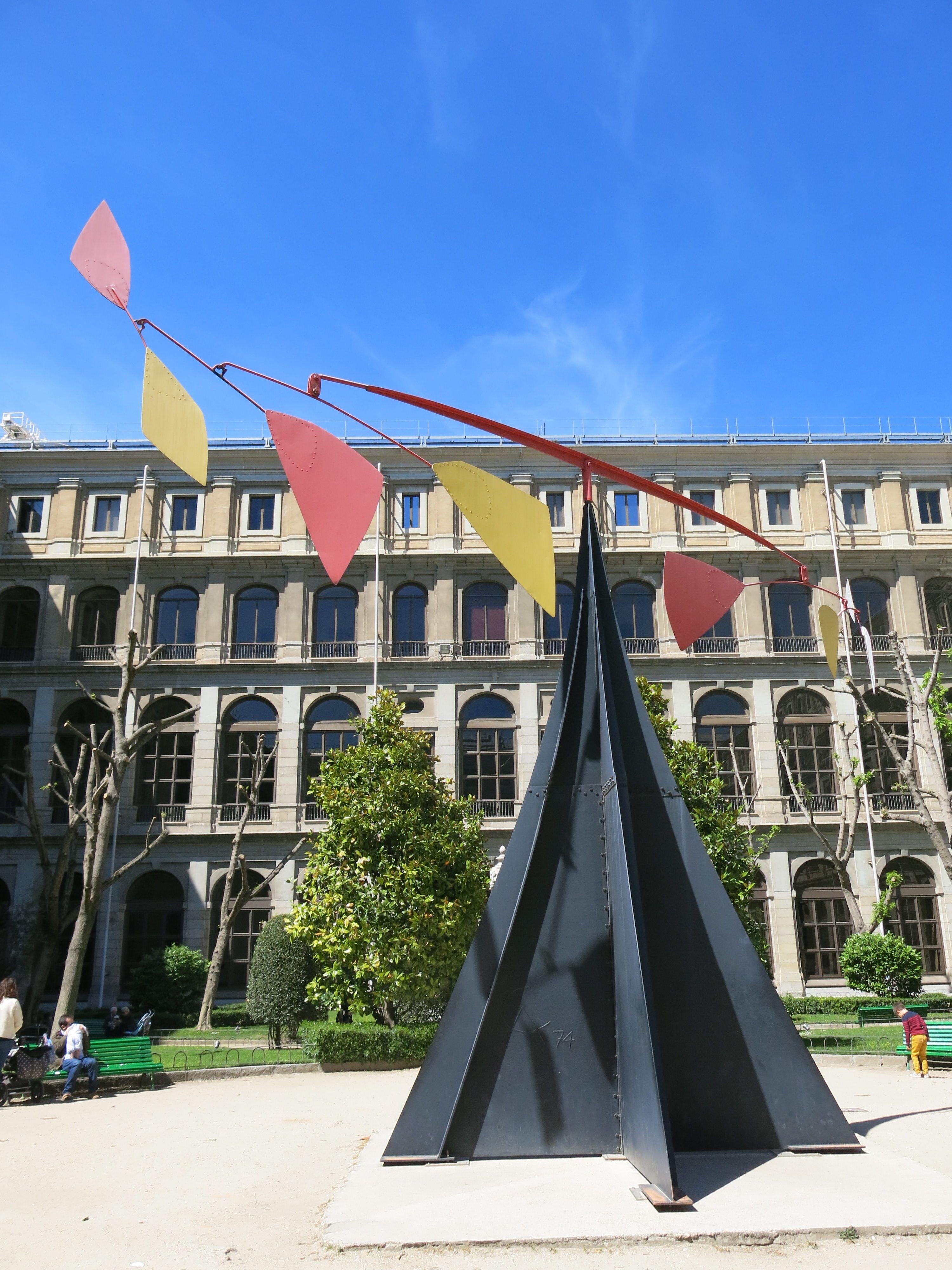 Xo Madrid Guera Photo Museo Reina Sofia Alexander Calder In