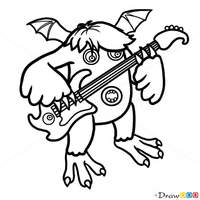 My Singing Monsters Coloring Pages Lovable My Singing Monsters Coloring Pages 31 My Singing Monsters Singing Monsters Coloring Books