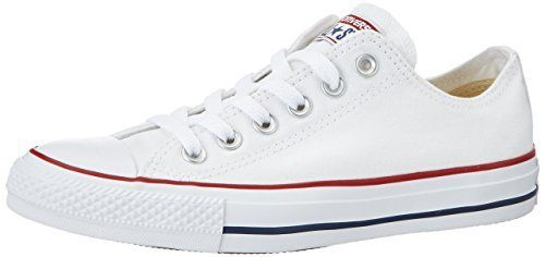 7f8d8ea51b48 Converse Unisex Chuck Taylor All Star Low Top Optical White Sneakers ...