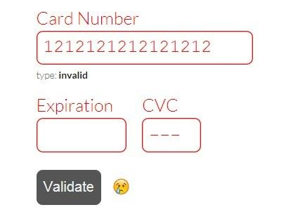 jQuery Plugin To Format  Validate Credit Card Forms - payform