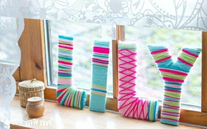 Schon Sehr Kreative Wanddeko Ideen Bunte Farben