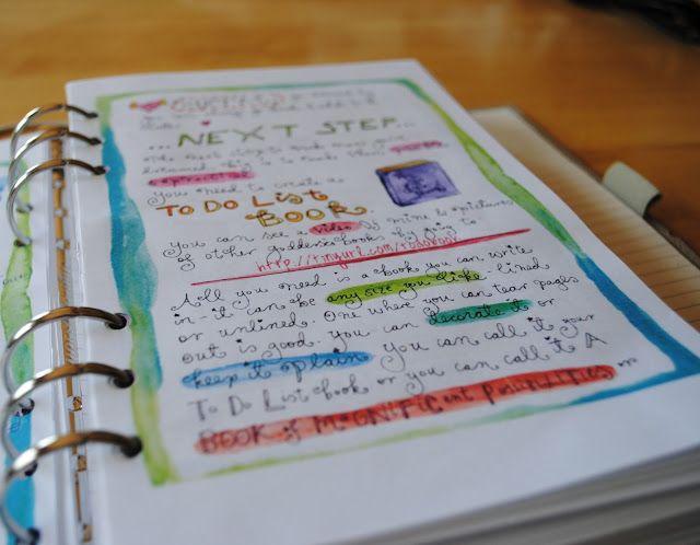 Filofax and Leonie Dawson's WorkBook