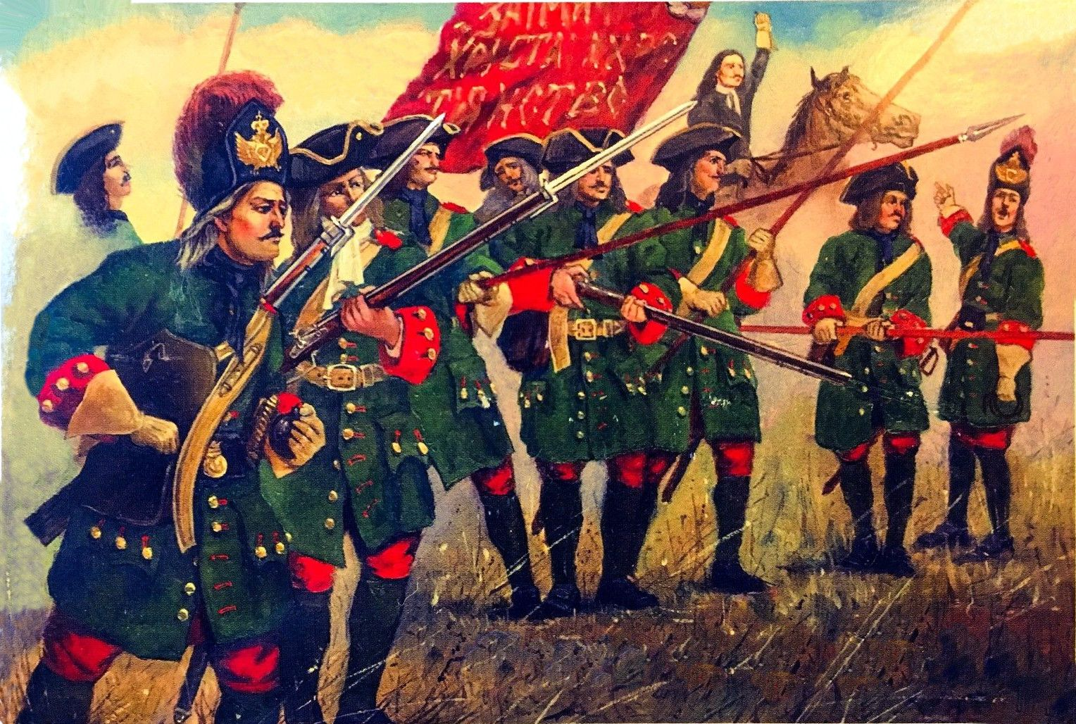Grenadier Guards of Tsar Peter the Great, Great Northern War