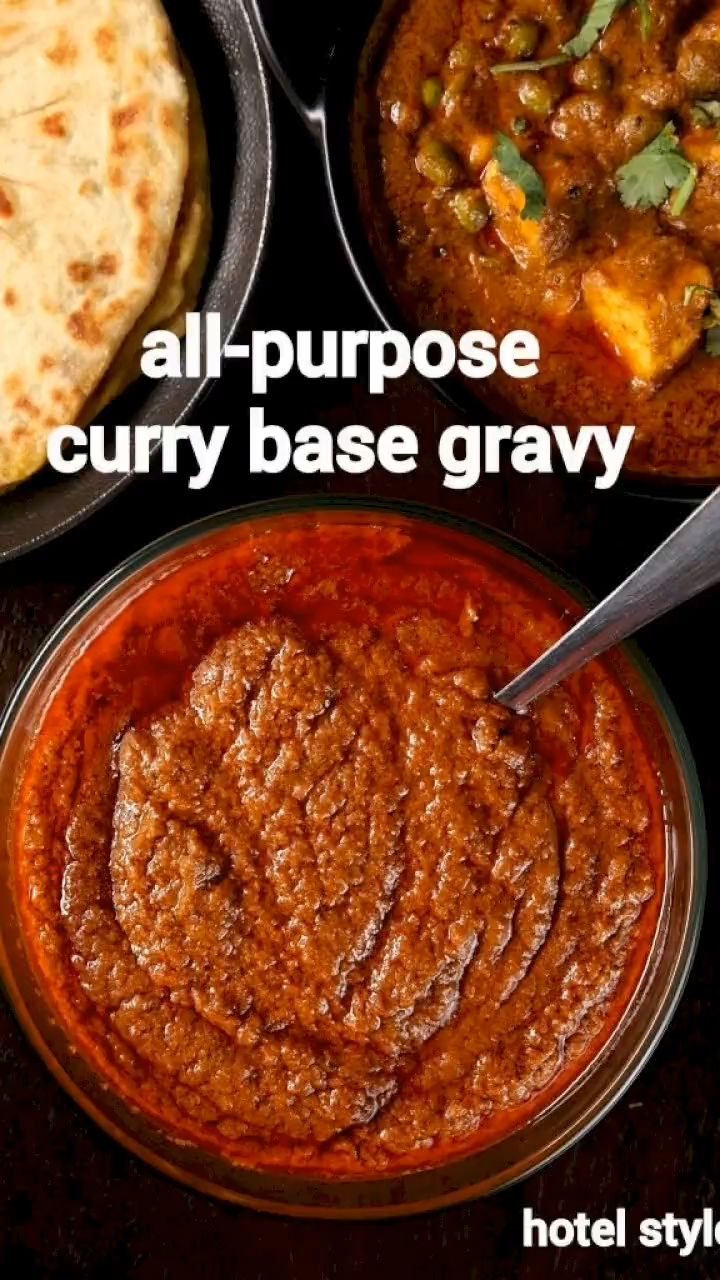 curry base recipe | basic curry sauce | all-purpos
