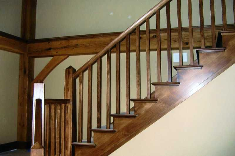Best Wood Baluster Wood Balusters Wood Staircase 400 x 300