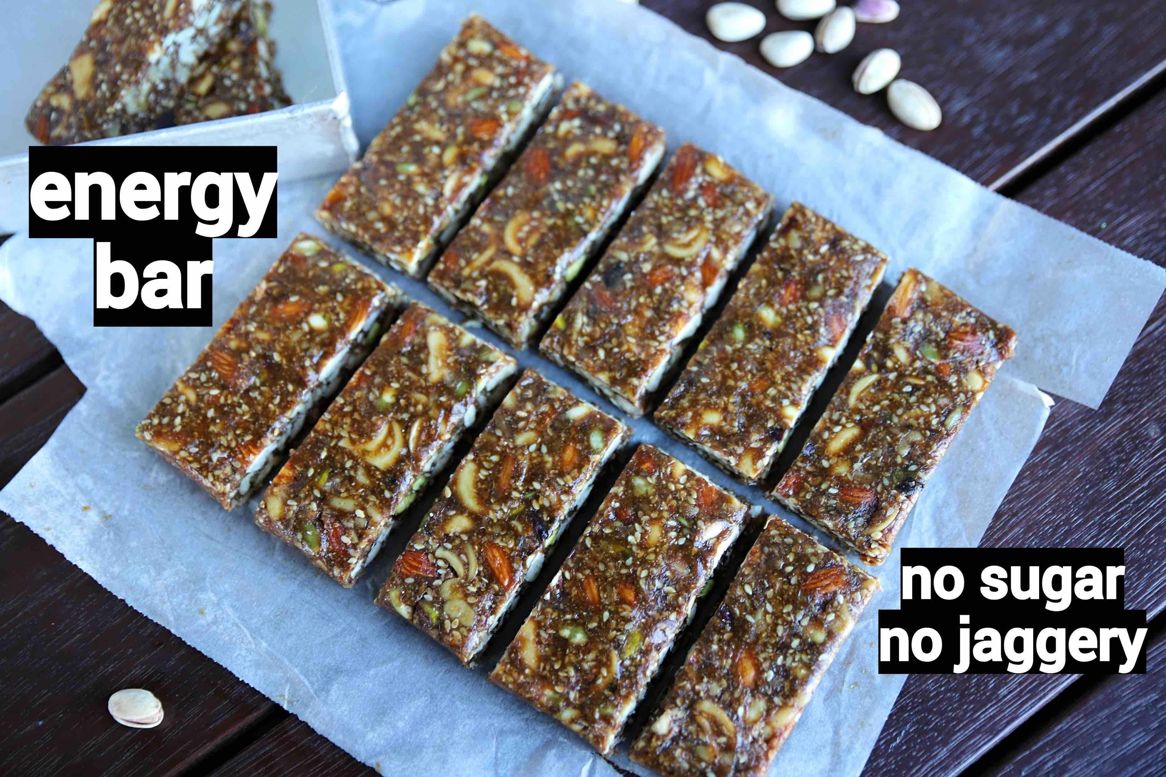 Energy Bar Recipe Protein Bar Recipe Dry Fruit Energy Bars Nut Bar Recipe Energy Bars Recipe Protein Bar Recipes Protein Bars Homemade
